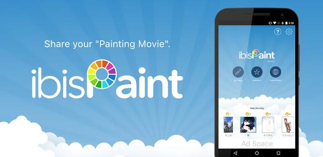 قم بتنزيل ibis Paint X  تطبيق الرسم الأكثر ثراءً بنظام الاندرويد