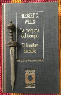 Portada del libro El hombre invisible, de H. G. Wells