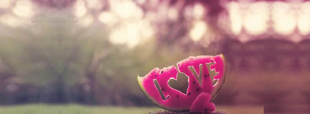 Love-Written-in-Watermelon-Facebook-Cover-Photo