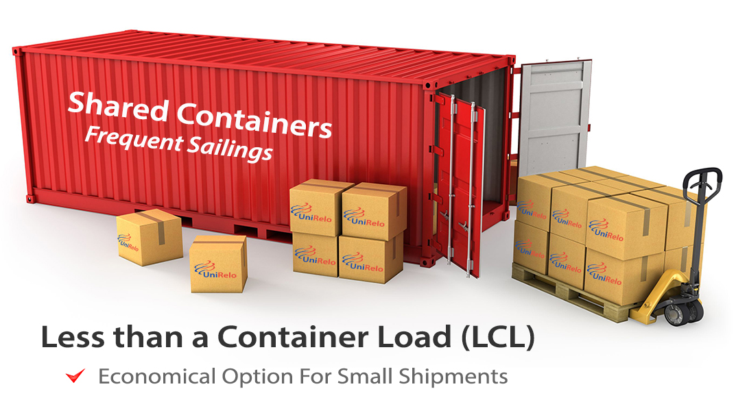 Unirelo Offers Lcl Shipping Services From Usa To India At Affordable Rates We Are The Largest Consolidators For