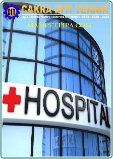Jasa Saluran mampet rumah sakit