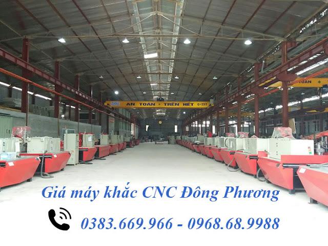 Giá máy khắc cnc tại Đông Phương Hà Nội