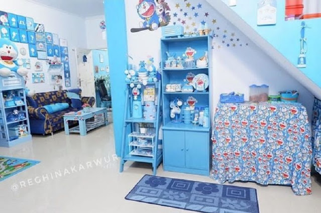 Rumah Serba Doraemon Kamar Tidur Anak
