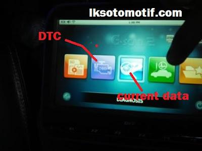 memilih DTC scan tools