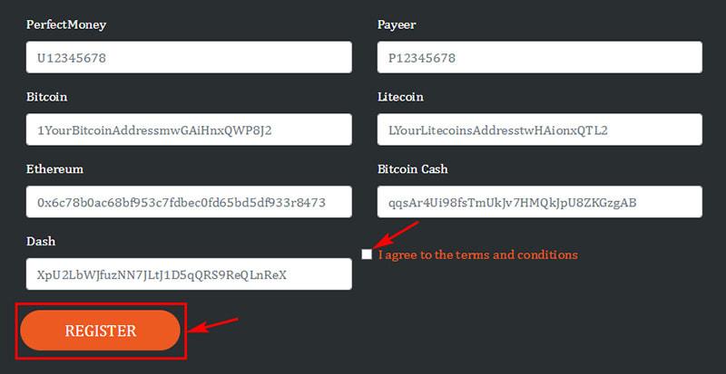 Регистрация в Cryptoverdrive 3