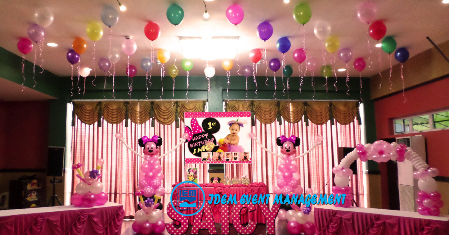 Birthday Party Decoration Stage (Code IEMB1010)
