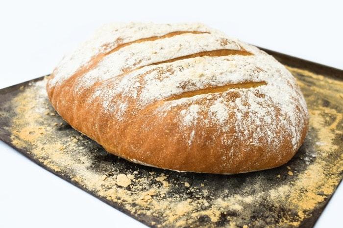 Light Rye Bloomer Cob Bread