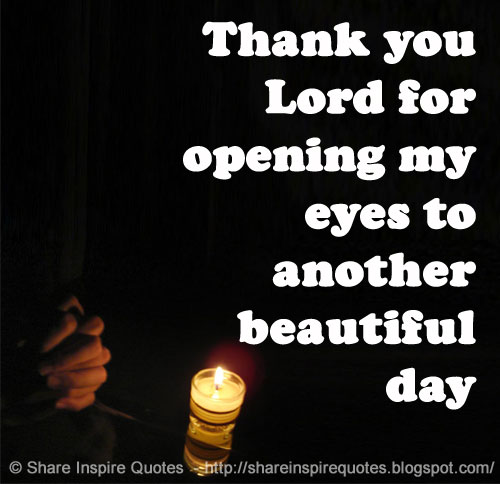 Imágenes De Quotes Thank You Lord For Another Day
