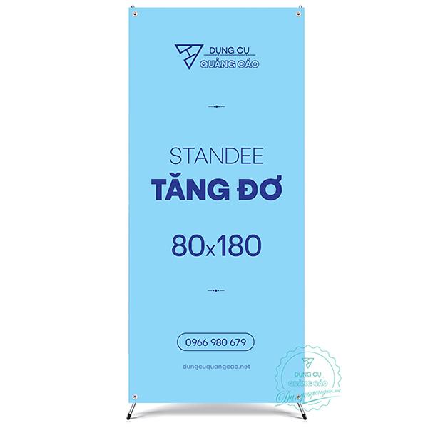 Standee chữ x tăng đơ kích thước 60 - 80 tại dungcuquangcao.net