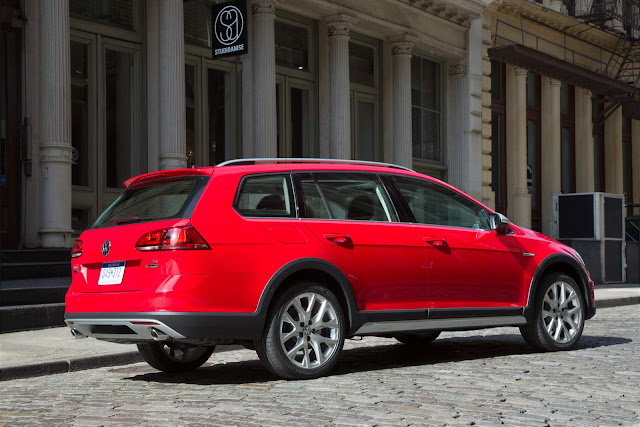 VW Golf Variant 2017 Alltrack