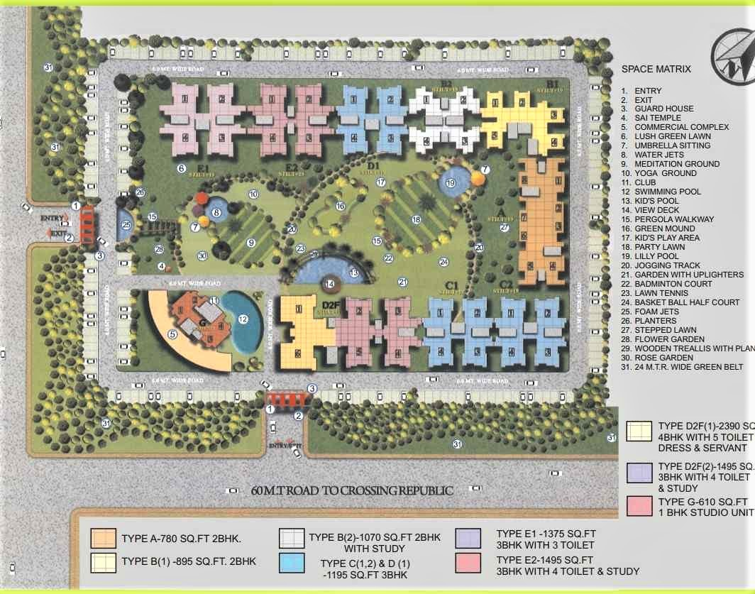 site plan redicon vedantam noida extension