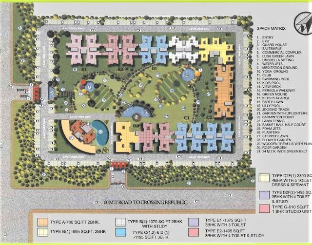 site plan redicon vedantam noida extension