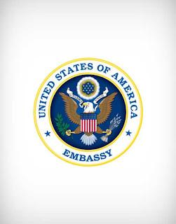 america embassy vector logo, america embassy logo, america, embassy