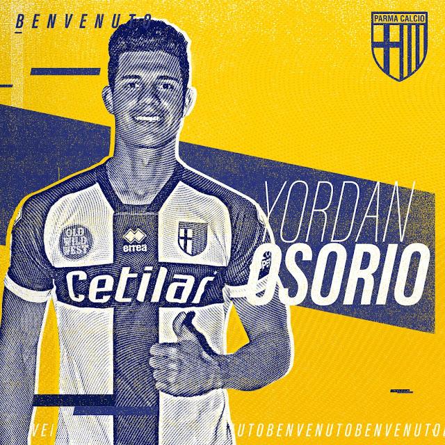 El Parma se refuerza con Yordan Osorio