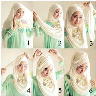 Tutorial hijab turban dian pelangi