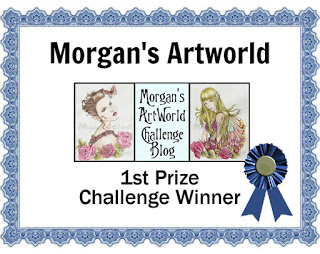 Morgan's ArtWorld 1st Prize Winner ~ February 2020 & November 2019