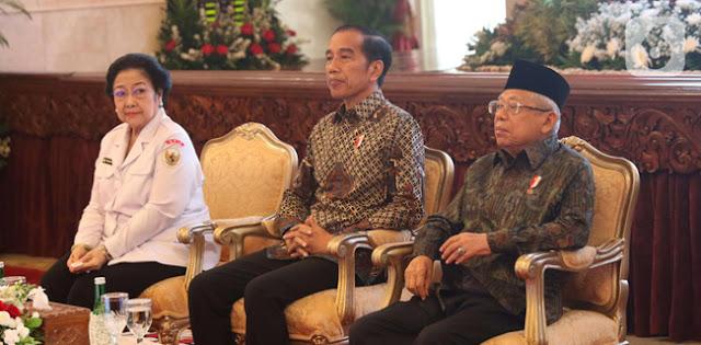 Megawati Minta Jokowi Cari Pengganti Ma'ruf Amin Dan Mahfud Md Di BPIP