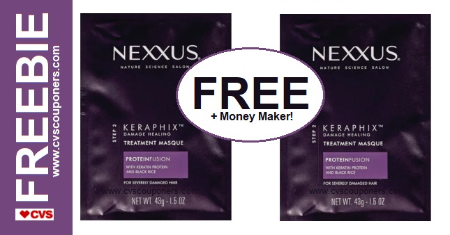 FREE Nexxus Treatment CVS Deal 7/21-7/27