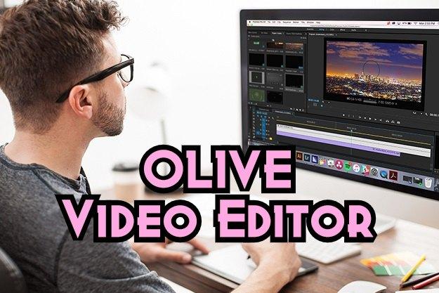 Olive - Το νέο δωρεάν επαγγελματικό πρόγραμμα επεξεργασίας βίντεο
