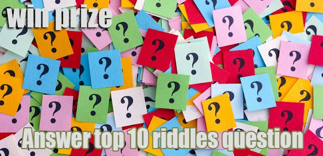 Top 10 Riddles Question - Puzzle games - IQ test 2020