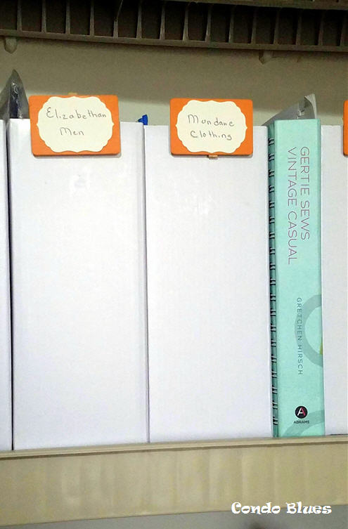 sewing pattern storage and organization that grows with you