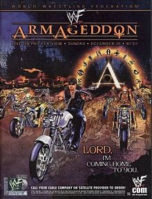 WWE / WWF - Armageddon 2000 - event poster