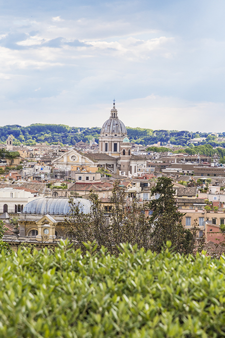 Rome, Italy by Posh, Broke, & Bored - View from Pincian Hill
