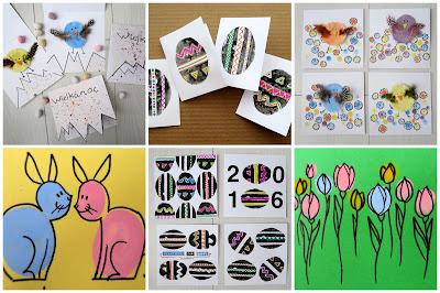 5 Easter card ideas
