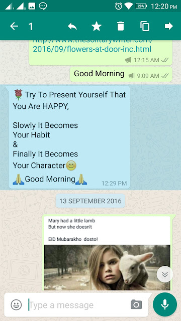 How to forward messages in Whatsapp messenger