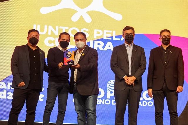 Registro-SP recebe troféu do Programa Juntos pela Cultura 2021