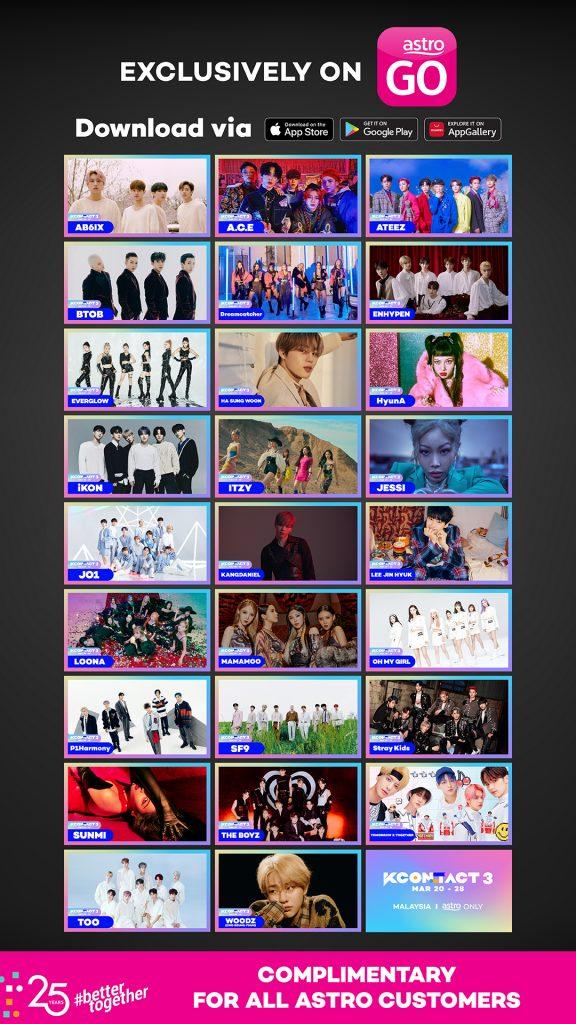 Tonton Konsert KCON:TACT 3 dan Peluang Menang Pertemuan Maya Bersama Bintang 'Penthouse', Kim Young Dae Hanya di Astro!