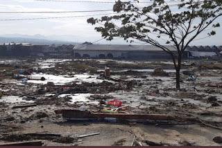 Beberapa Fakta seputar Tsunami kota Palu setelah gempa 7.7