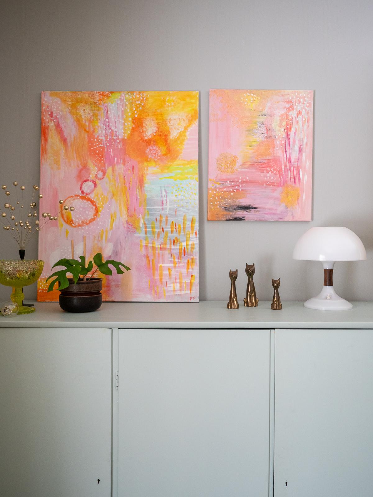 värikästä taidetta