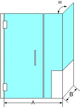 Corner Shower Enclosure 1