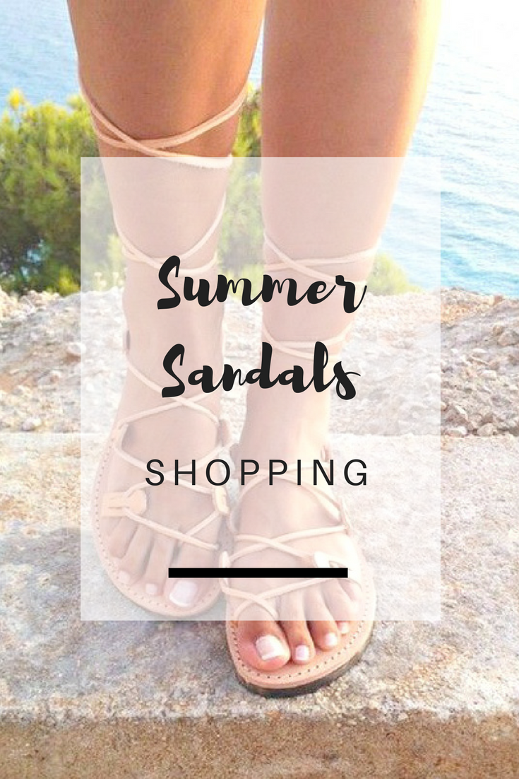 Summer Sandals Shopping Picks - Ioanna's Notebook