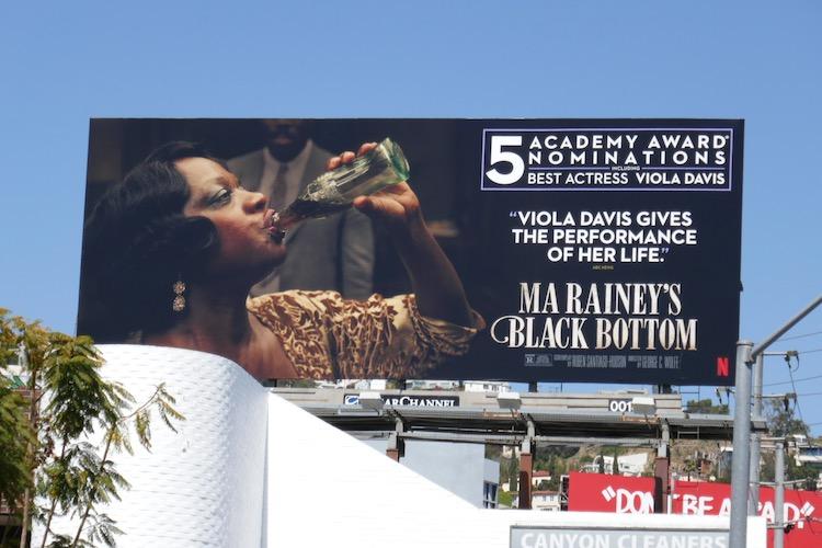 Viola Davis Ma Raineys Black Bottom Academy Award nominee billboard