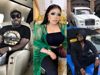 Bobrisky Shows Off Lover