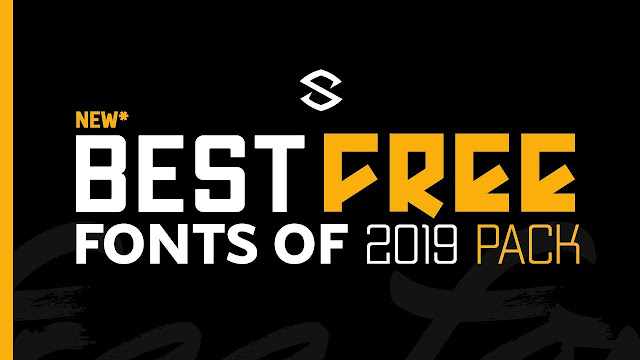 Best NEW Free Fonts for Designer (2019)
