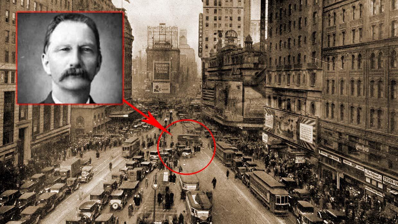 Η εκπληκτική ιστορία του Rudolph Fentz, του ταξιδιώτη που πέθανε στην Time Square το 1950