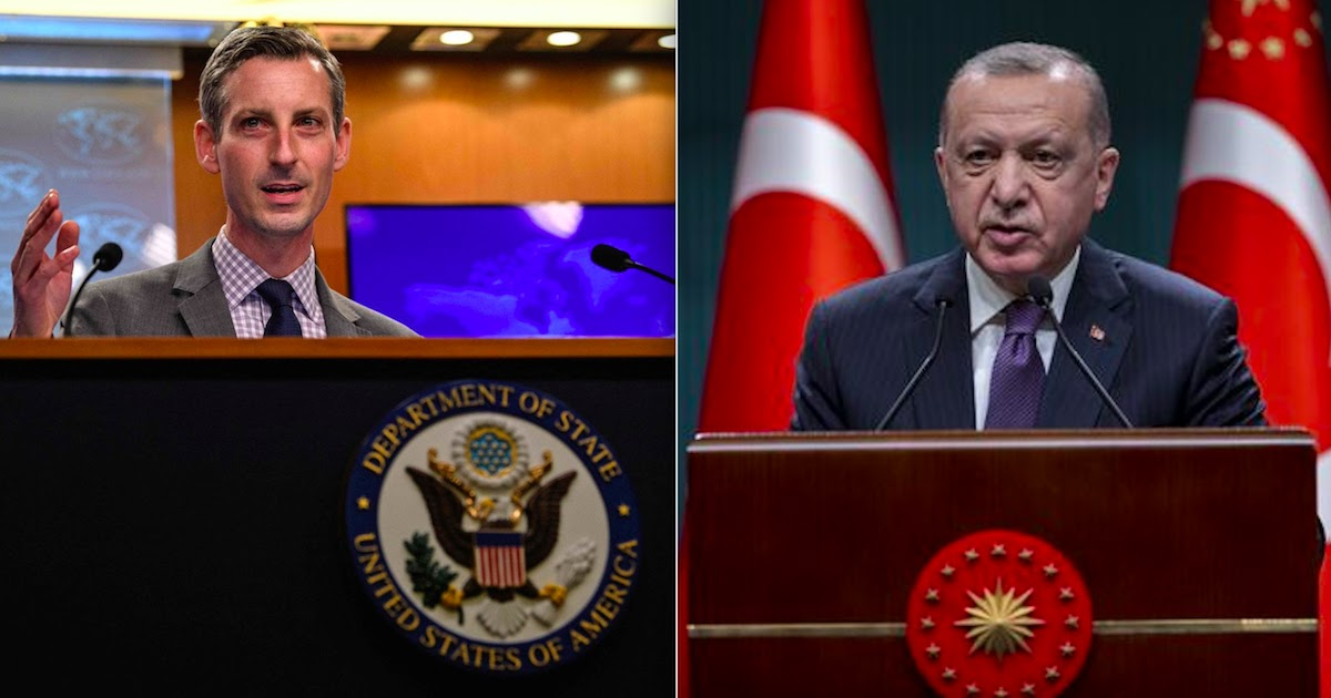 US Condemns Erdogan For His Anti-Semitic Comments On Jewish People