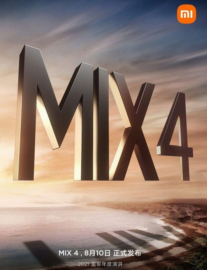 mi mix 4 ra mắt