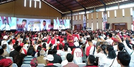 8.000 Balad Jokowi Deklarasikan Dukungan