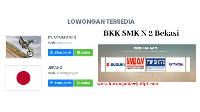 BKK SMK N 2 Bekasi