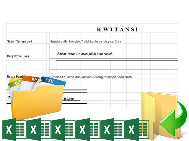 Contoh Format Administrasi Kelengkapan Pembuatan Lpj Bos File Guru