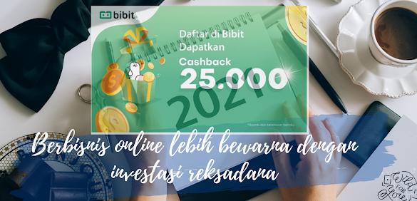 Berbisnis online lebih bewarna dengan investasi reksadana