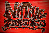 Native Zinestress poster