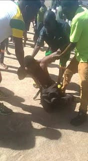 Drama as Barber fakes his death after he was caught red-handed sleeping with a Taxi driver wife