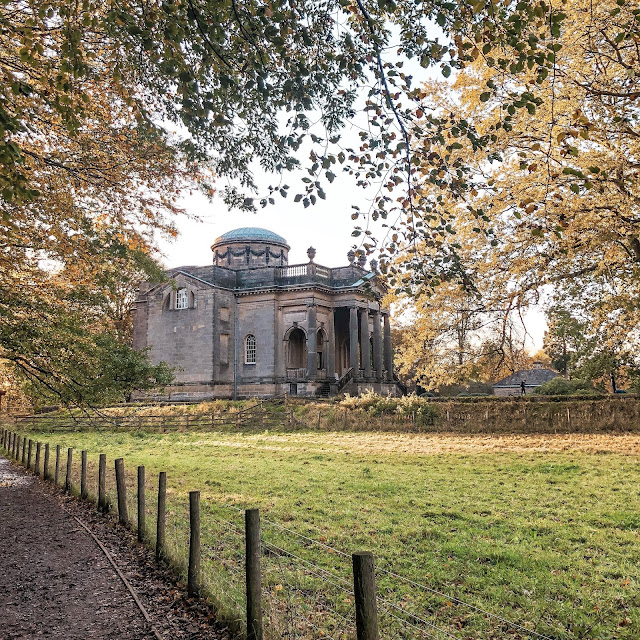 Returning home after living abroad: one year on- Gibside hall walk
