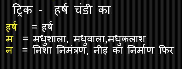 Gk Trick Hindi : वाणभट्ट की प्रमुख रचना