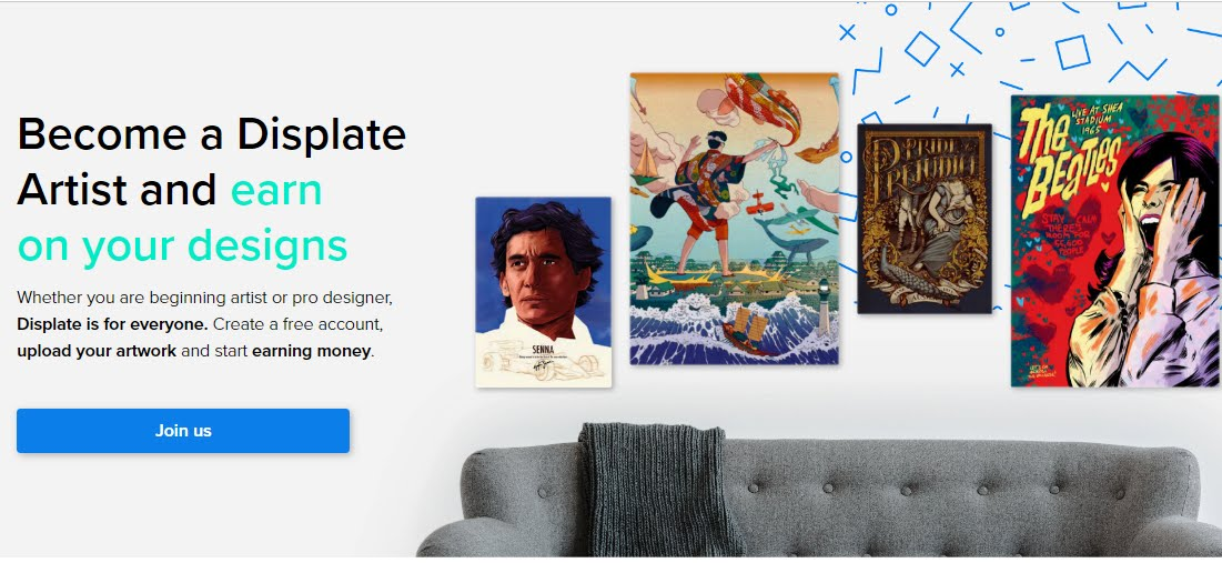 Become a Displate  Artist and Earn on Your Designs